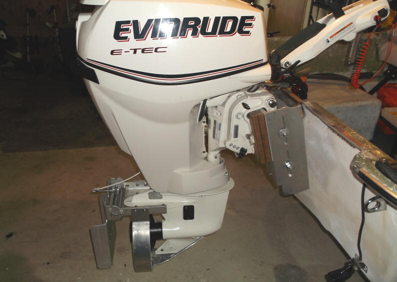 Restoration outfitting a 35 y for How to raise outboard motor