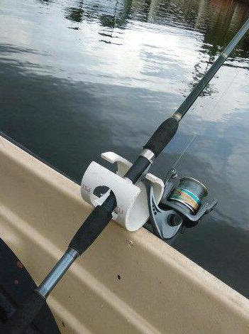 Fishing rod holders for Spring loaded fishing rod holder