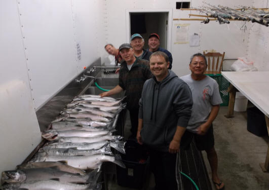 Alaskan bank fishing for coho for Bank fishing near me