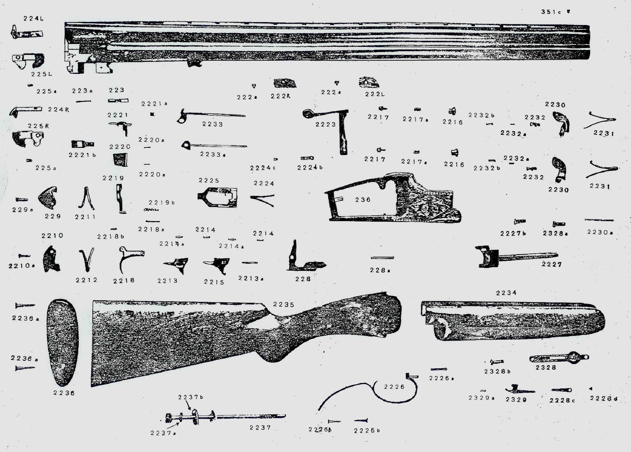 charles daly rh leeroysramblings com escort shotgun parts diagram firearms parts diagrams