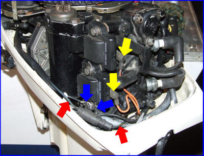 Johnson troubleshooting on 50 hp johnson outboard power pack wiring diagram