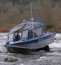 Outfitting a River Jet Sled