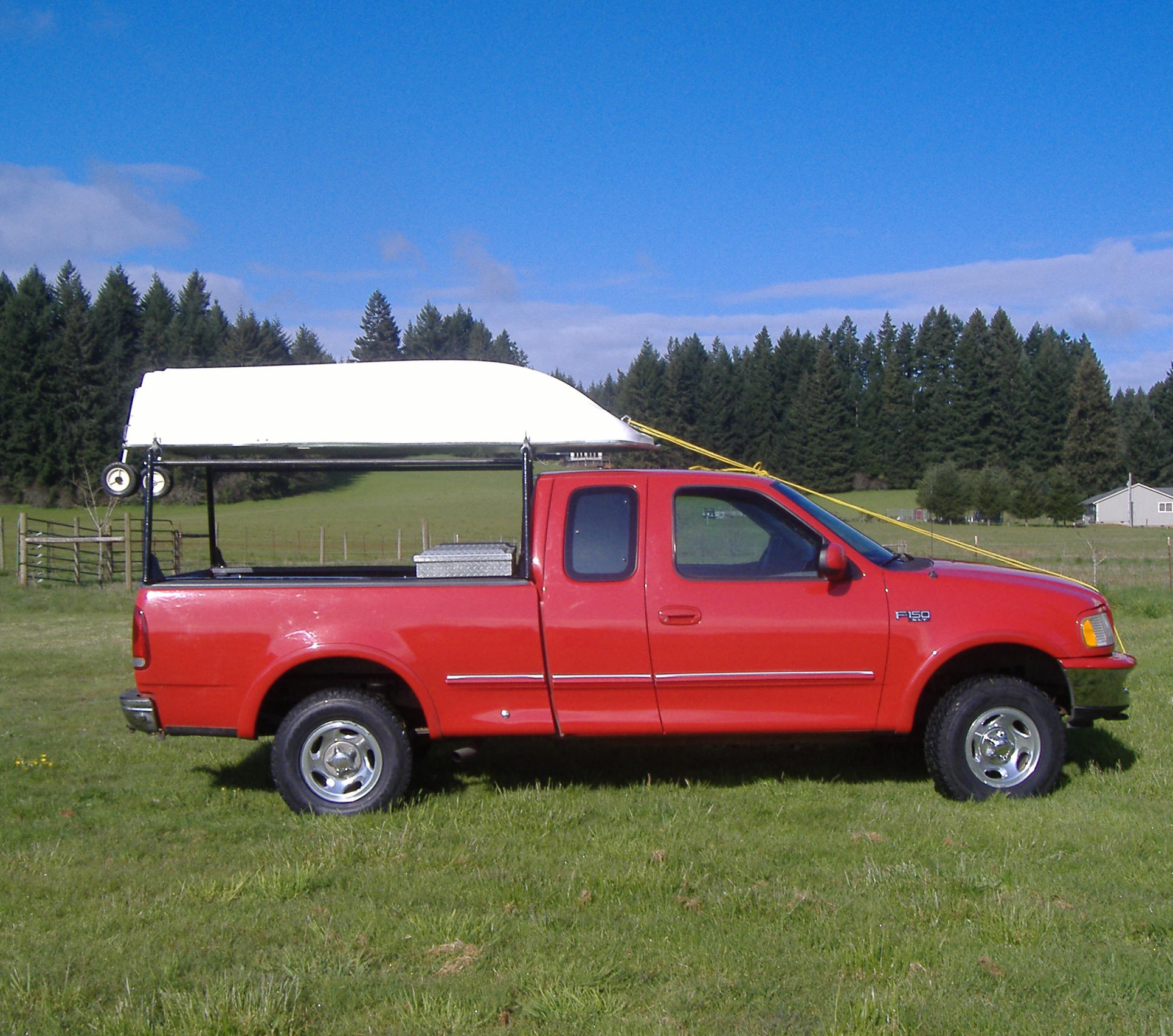 Wood Truck Tops ~ Truck top boat rack cosmecol