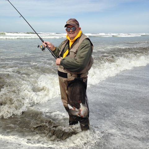 Surf fishing for sea perch the washington for Roy s fishing supply