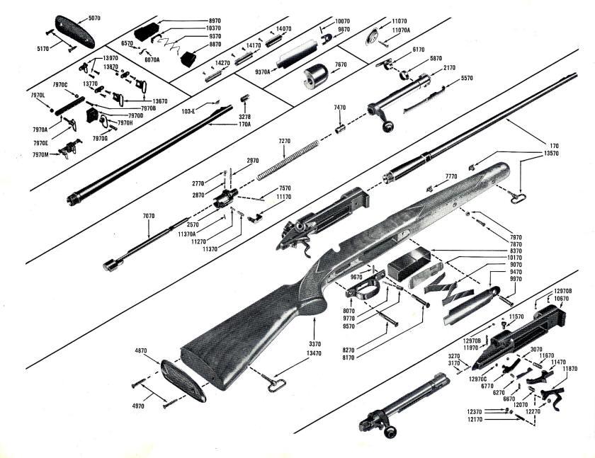 Winchester Pre 64 Model 70 Rifle