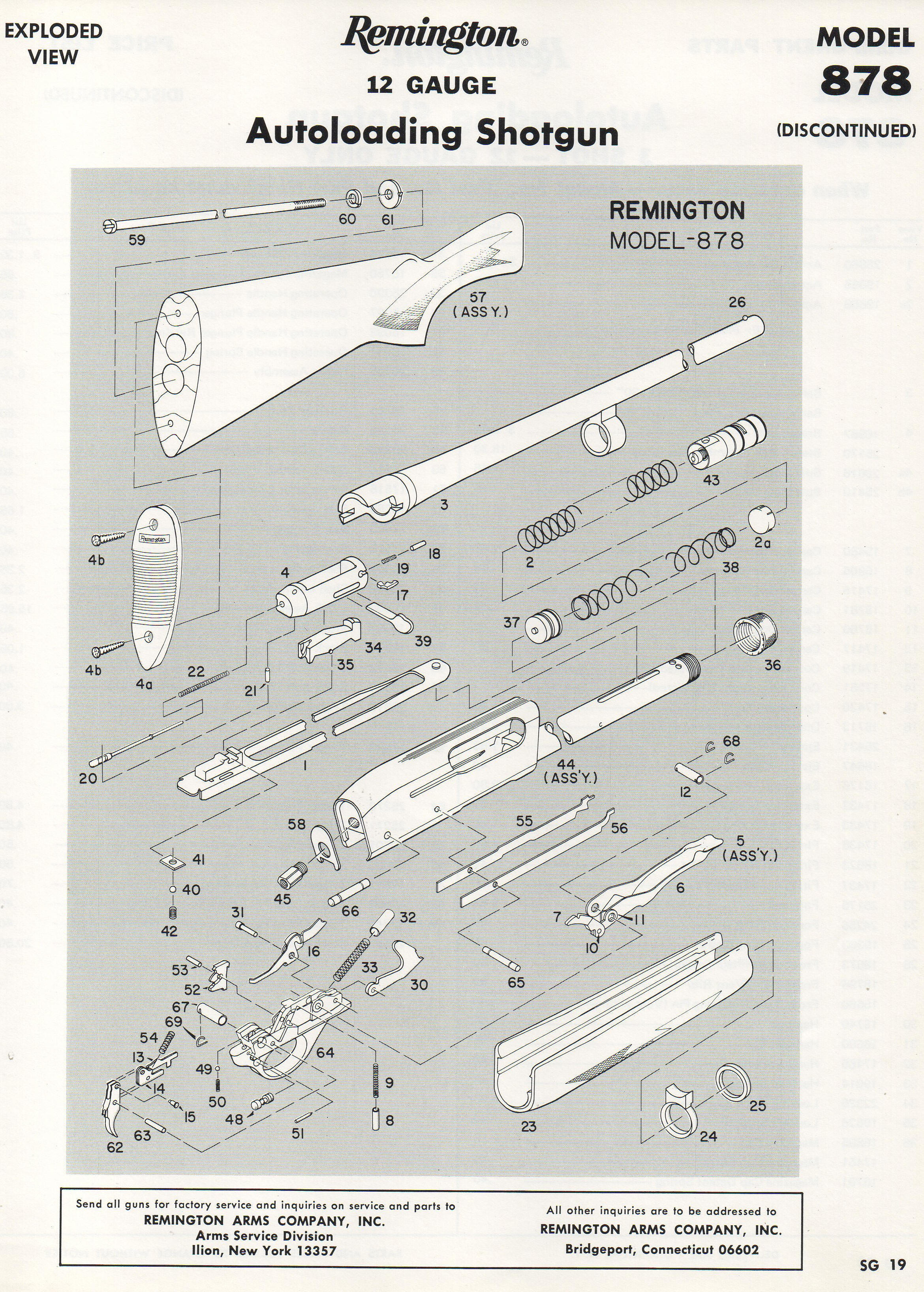remington 58 1100 11 87 semi rh leeroysramblings com Remington 11-87 Disassembly Diagram remington 1187 super mag parts diagram