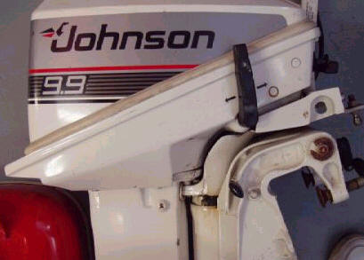 maintaining johnson evinrude 9 9 part 1 johnson evinrude parts diagram rh side showing shifting lever and tilt lock lever on a